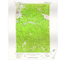 USGS Topo Map Washington State WA Enumclaw 241073 1956 62500 Poster