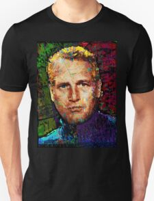 Paul Newman. Cool Cat On A Hot Tin Roof. Unisex T-Shirt