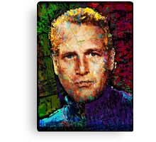 Paul Newman. Cool Cat On A Hot Tin Roof. Canvas Print
