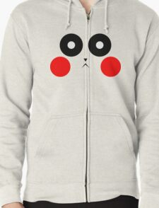 Pikachu Stare Zipped Hoodie