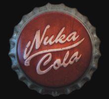 Nuka Cola Bottlecap - Fallout by Epicloud