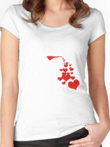 For the love of (GOOD) coffee... Women's Fitted Scoop T-Shirt