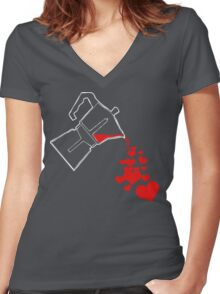 For the love of (GOOD) coffee... Women's Fitted V-Neck T-Shirt