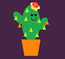 Little Miss Cactus In An Orange Pot Unisex T-Shirt