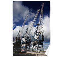 Cranes Poster