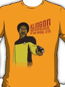 Klingon MotherF**ker Do You Speak It?! T-Shirt