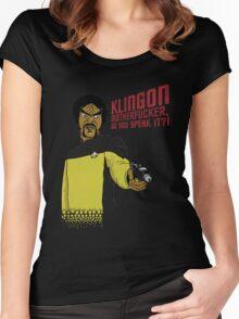 Klingon MotherF**ker Do You Speak It?! Women's Fitted Scoop T-Shirt