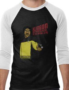 Klingon MotherF**ker Do You Speak It?! Men's Baseball ¾ T-Shirt