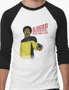 Klingon MotherF**ker Do You Speak It?! Men's Baseball ¾ T-Shirt