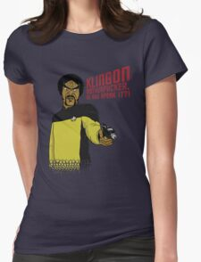 Klingon MotherF**ker Do You Speak It?! Womens Fitted T-Shirt