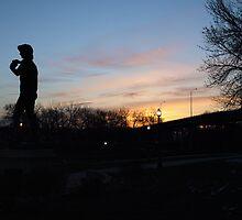 Standing Before the Dawn by Scott Hendricks