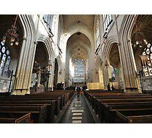 Inside Bath Abbey Photographic Print