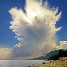 Cumulonimbus Incus Cloud Rising by Kuzeytac