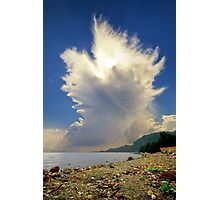 Cumulonimbus Incus Cloud Rising Photographic Print