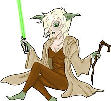 Jedi Mistress Yoda by Joejack-Art
