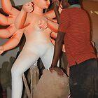 Making Of Durga Idol by Indrani Ghose