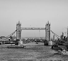 Tower Bridge by Victoria  Eastwood