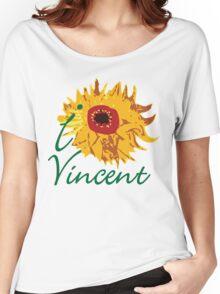 I LOVE VINCENT VAN GOGH T-shirt Women's Relaxed Fit T-Shirt