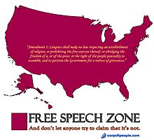 Free Speech Zone by corpsrpeople