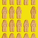 gingerbread men by Michelle McMahon