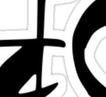 "Japanese Kanji for ""Harmony"" Sticker"