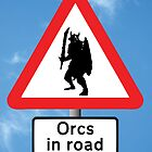 Orcs in Road by Vince Fitter