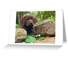 There you are! Greeting Card