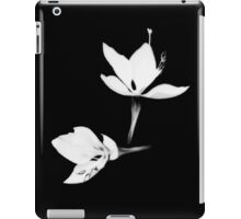 White|Black [Print and iPhone / iPad / iPod Case] iPad Case/Skin