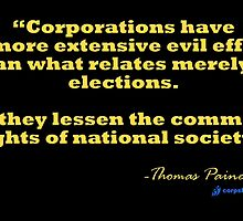 Thomas Paine on Corporations by corpsrpeople