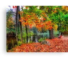 Autumn At The Spirit Of The Woods Canvas Print