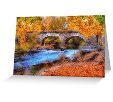 Autumn Colors In Dap Greeting Card