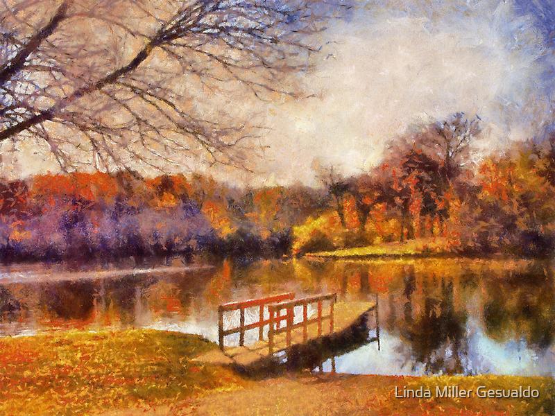 Atumn Reflection by Linda Miller Gesualdo