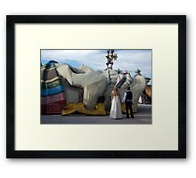 Love Conquers All Framed Print