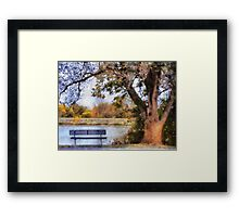 Autumns Tree Framed Print