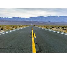 Highway 190 Death Valley California  Photographic Print