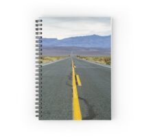 Highway 190 Death Valley California  Spiral Notebook