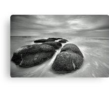 Hunstanton Rocks Metal Print