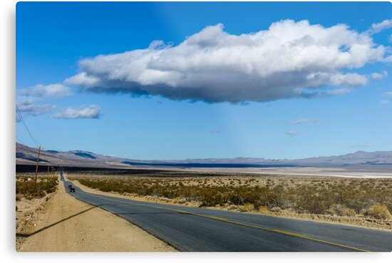 California, U.S. Route 395 - Three Flags Highway  by PhotoStock-Isra
