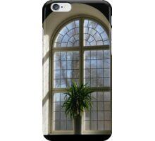 Church window iPhone Case/Skin