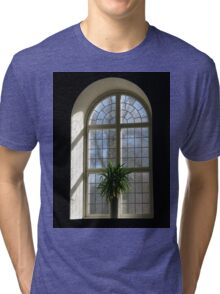 Church window Tri-blend T-Shirt