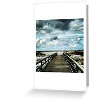 Breach Bridge Greeting Card