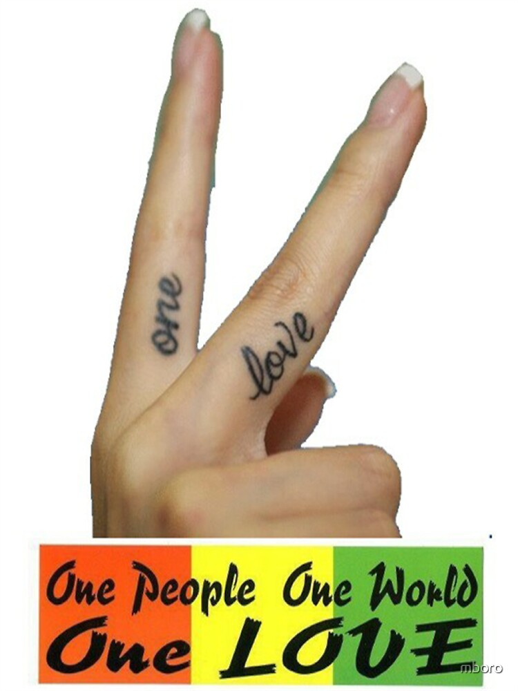 One Love - One World by mboro