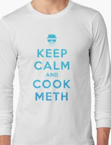 Keep Calm and Cook Meth Long Sleeve T-Shirt