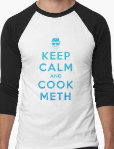 Keep Calm and Cook Meth Men's Baseball ¾ T-Shirt