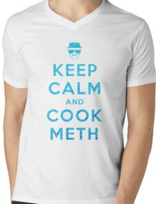 Keep Calm and Cook Meth Mens V-Neck T-Shirt
