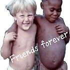 Black & White Friends by mboro
