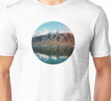 New Zealand mountain landscape with authentic light leak Unisex T-Shirt