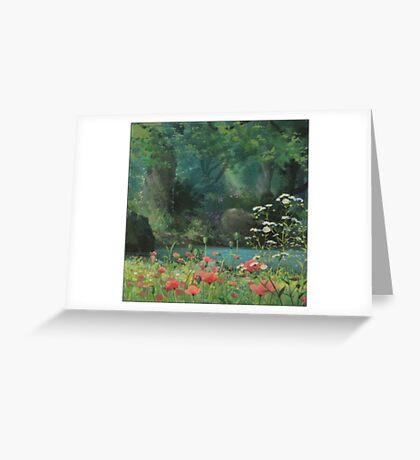 Ghibli Background Greeting Card