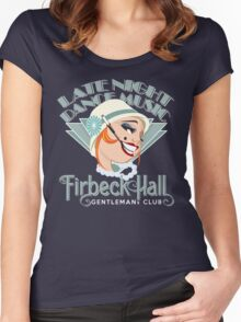 Late Night Dancing Women's Fitted Scoop T-Shirt