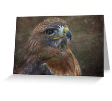 Animal world in textures  Greeting Card